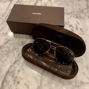 Tom Ford: Aviator Sunglasses- New with tags